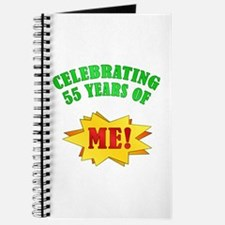 Funny Attitude 55th Birthday Journal