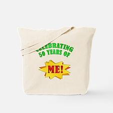 Funny Attitude 50th Birthday Tote Bag