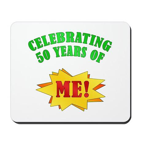 Funny Attitude 50th Birthday Mousepad