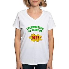 Funny Attitude 40th Birthday Shirt