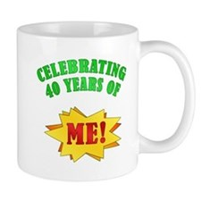 Funny Attitude 40th Birthday Mug