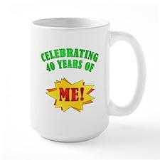 Funny Attitude 40th Birthday Mug