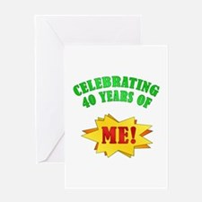 Funny Attitude 40th Birthday Greeting Card