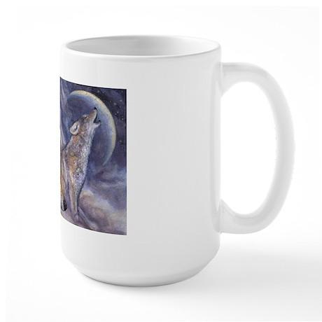 Coyote Moon Large Mug