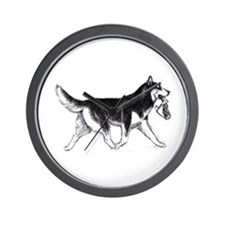 Cute Dog bones Wall Clock