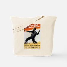 College Money Tote Bag