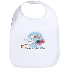 Stork Baby USA Bib