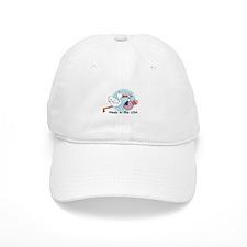 Stork Baby USA Baseball Cap
