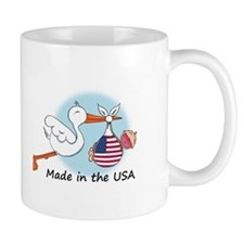 Stork Baby USA Mug