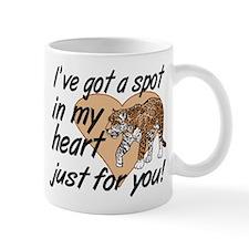 Leopard Print Valentine Mug