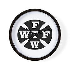 WTF FTW Wall Clock