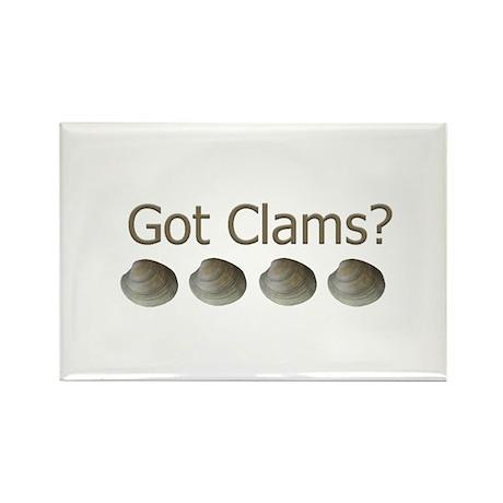Got Clams? Rectangle Magnet