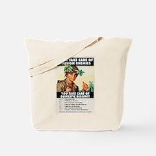 Domestic Dissent Tote Bag