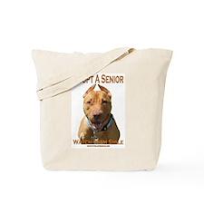 Adopt A Senior Tote Bag