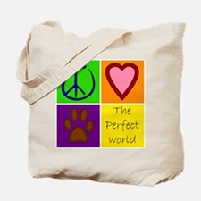 Perfect World: Dogs - Tote Bag
