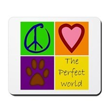 Perfect World: Dogs - Mousepad