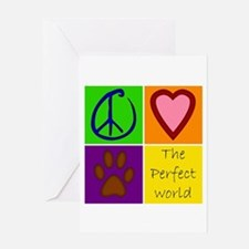 Perfect World: Dogs - Greeting Card