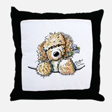 Bailey's Irish Crm Doodle Throw Pillow