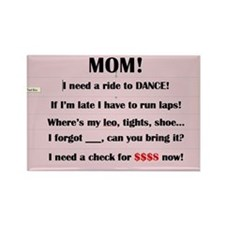 Dance Mom Magnet