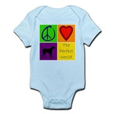 Perfect World: Black Lab - Infant Bodysuit