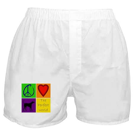 Perfect World: Black Lab - Boxer Shorts