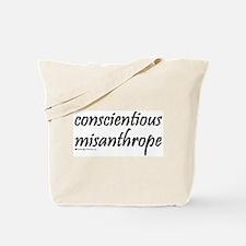 Conscientious Misanthrope Tote Bag