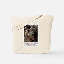 Cute Osama bin laden Tote Bag