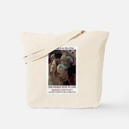Cute Pollution Tote Bag