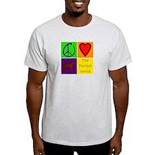 Perfect World: Chocolate Lab - T-Shirt