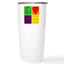 Perfect World: Chocolate Lab - Travel Mug