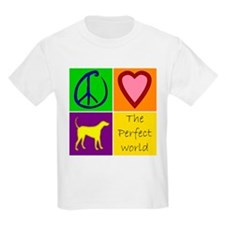 Perfect World: Yellow Lab - T-Shirt