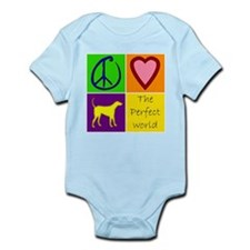 Perfect World: Yellow Lab - Infant Bodysuit
