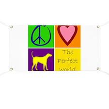 Perfect World: Yellow Lab - Banner
