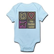 Perfect World: Labrador Retri Infant Bodysuit
