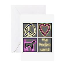 Perfect World: Labrador Retri Greeting Card
