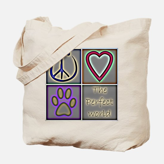 Perfect World: Dogs (ALT) - Tote Bag