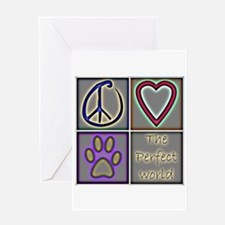 Perfect World: Dogs (ALT) - Greeting Card