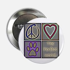 """Perfect World: Dogs (ALT) - 2.25"""" Button"""