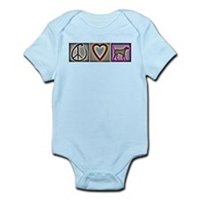 Peace Love Labrador Retrievers - Infant Bodysuit