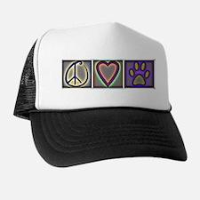Peace Love Dogs (ALT) - Trucker Hat