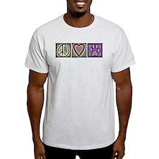 Peace Love Dogs (ALT) - T-Shirt