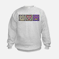 Peace Love Dogs (ALT) - Sweatshirt