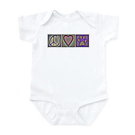 Peace Love Dogs (ALT) - Infant Bodysuit