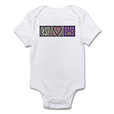 Peace Love Dogs (ALT) - Infant Bodysuit