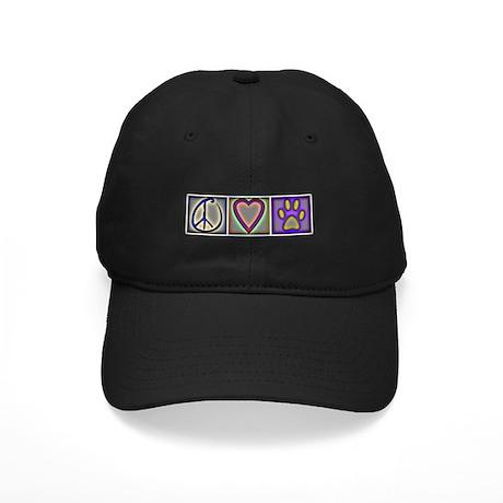 Peace Love Dogs (ALT) - Black Cap