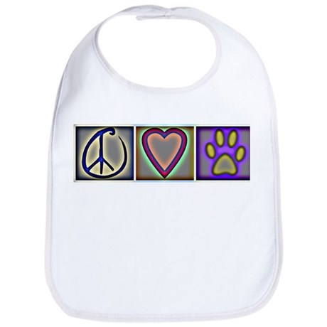 Peace Love Dogs (ALT) - Bib