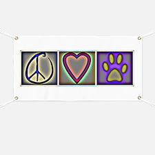 Peace Love Dogs (ALT) - Banner