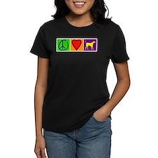 Peace Love Yellow Labs - Tee