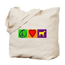 Peace Love Yellow Labs - Tote Bag