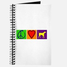 Peace Love Yellow Labs - Journal